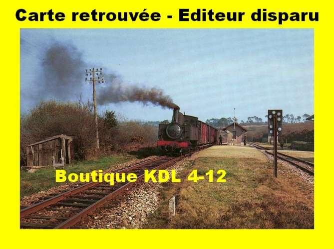 BALIZIAUX 00046 - Train MV - Loco 230 T en gare - TELGRUC SUR MER - Finistère - RB