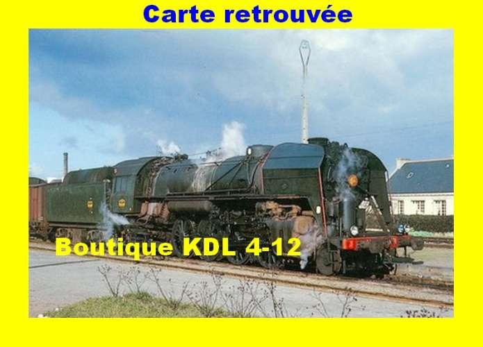 BALIZIAUX 00048 - Train - Loco 141 R 1081 en gare - ROSPORDEN - Finistère - SNCF