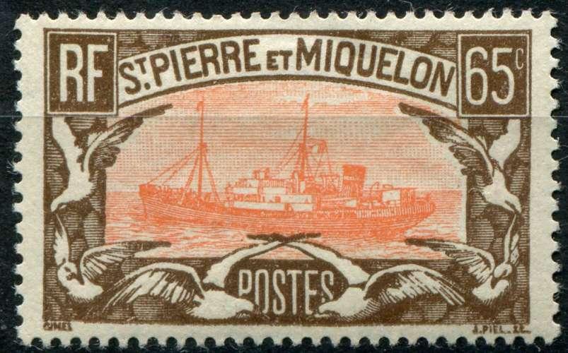 SAINT-PIERRE ET MIQUELON  _  Y & T :  N°   148  *  -  Cote  :   3,00  €