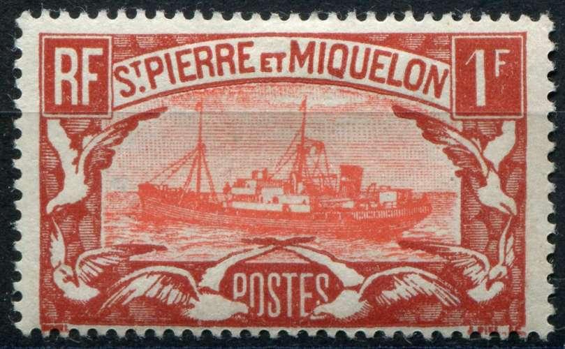 SAINT-PIERRE ET MIQUELON  _  Y & T :  N°   151  *  -  Cote  :   3,00  €