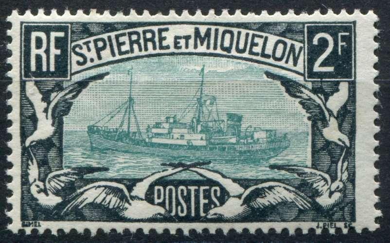 SAINT-PIERRE-ET-MIQUELON  _  Y & T  :  N°  155  *  -  Cote  :   20,00  €
