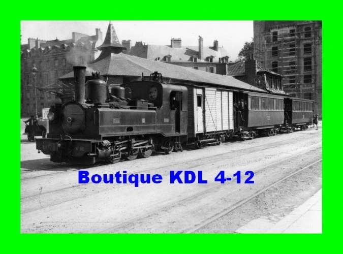 BVA 801-01 - Train - Loco Corpet-Louvet 031 T n° 80 à la station RENNES CROIX DE MISSION - TIV
