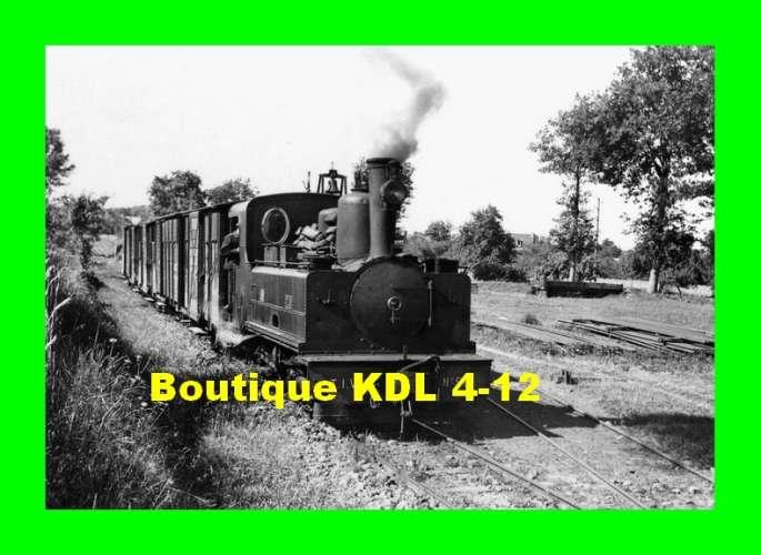 BVA 801-05 - Train MV - Loco - Corpet-Louvet 030 T n° 58 - MINIAC-MORVAN - Ille et Vilaine - TIV