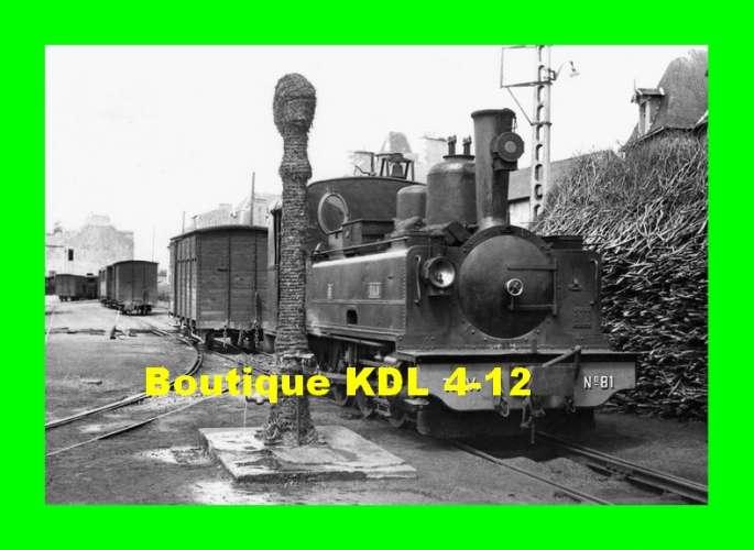 BVA 801-09 - Loco Corpet-Louvet 031 T n° 81 - FOUGERES - Ille et Vilaine - TIV