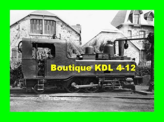 BVA 801-10 - Loco Corpet-Louvet 031 T n° 81 - FOUGERES - Ille et Vilaine - TIV