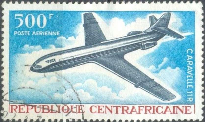 Centrafrique PA 52 oblitéré