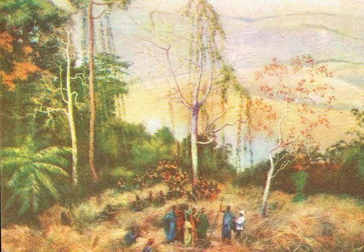 Panorama du Congo par P. Mathieu et A. Bastien