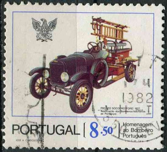 PORTUGAL 1981 OBLITERE N° 1522