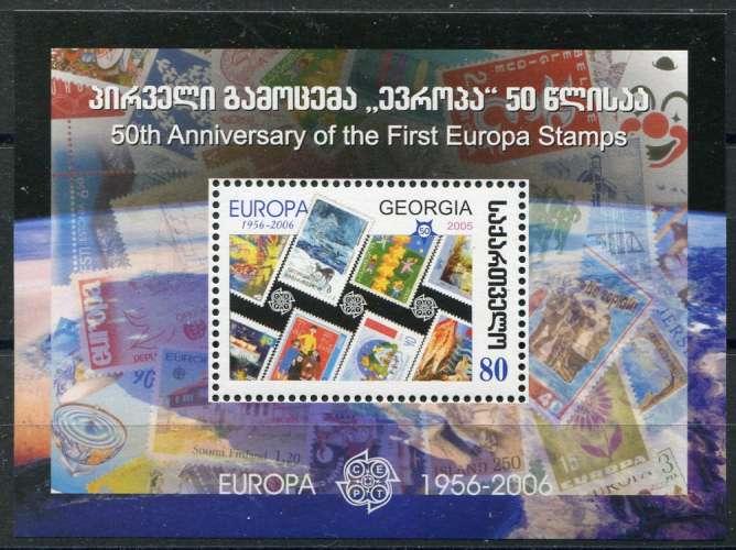 GEORGIE  _  Y & T  :  Bloc  N°  35  **  -  Cote  :   5,00  €