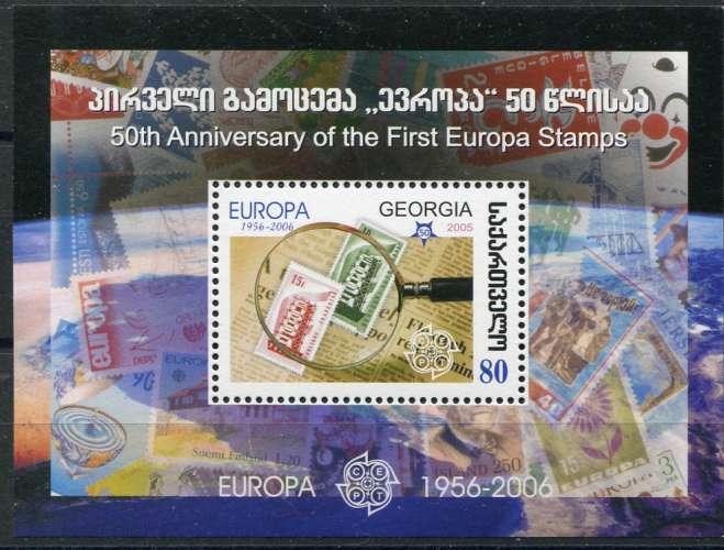 GEORGIE  _  Y & T  :  Bloc  N°  37  **  -  Cote  :   5,00  €