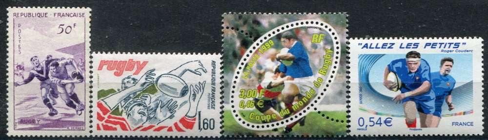 FRANCE  _  4 timbres sur le théme