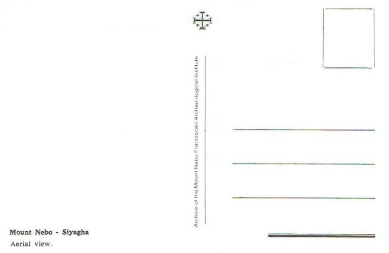 SIYAGHA : Mount Nebo vue aérienne