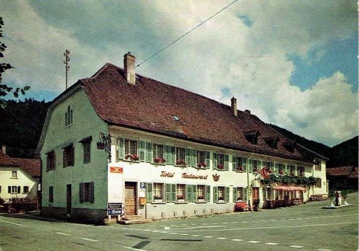 SONCEBOZ : Hôtel-Restaurant de la Couronne