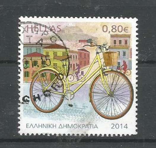 Grèce 2014 - YT n° 2725 - Bicyclette