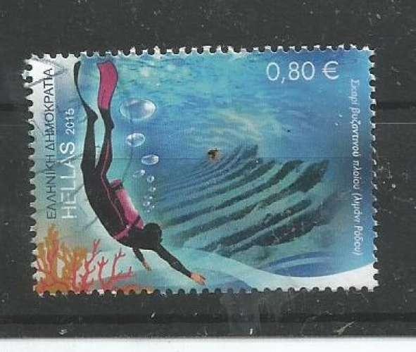 Grèce 2015 - YT n° 2777 - Tourisme - plongée sous-marine