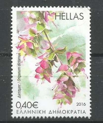 Grèce 2016 - YT n° 2839 - Fleur - Dictame de Crète