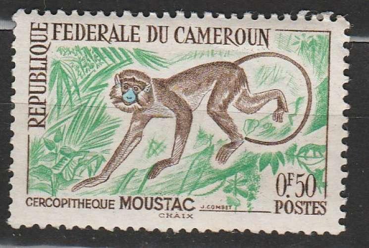 Cameroun  singe YT 339**