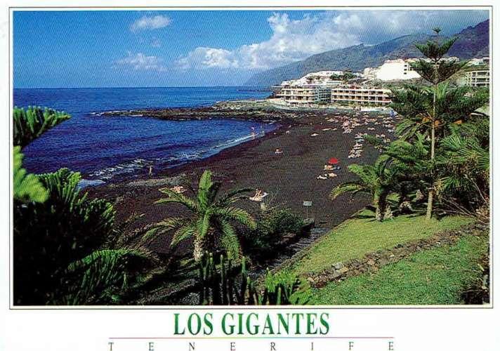 TENERIFE : Los Gigantes - Playa Las Arenas - Affr Philatélique