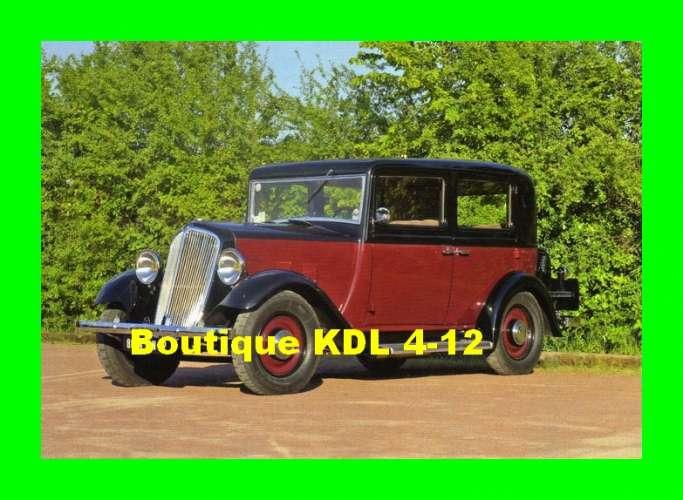 ACACF Auto 17 - Renault - Primaquatre luxe KZ 10 DE - 1933