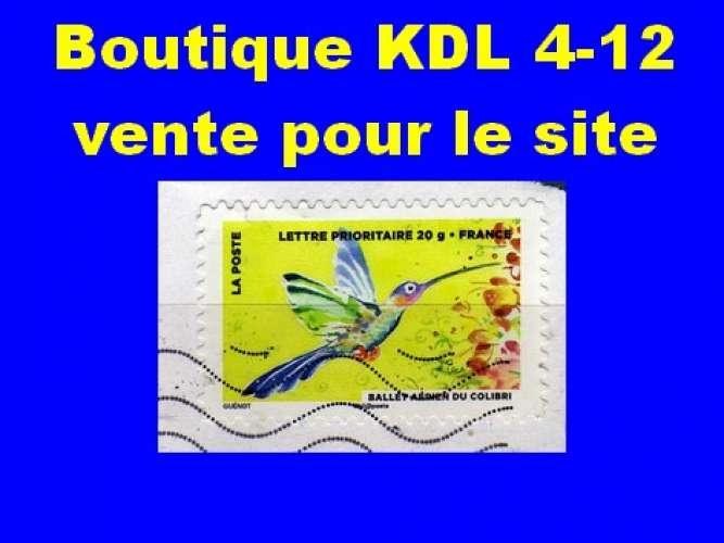 FRANCE - Oblitéré sur fragment - AA 896 Colibri