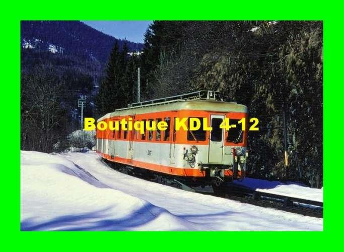 AL 427 - Automotrice Decauville Z 606 - LES HOUCHES - Haute Savoie - SNCF