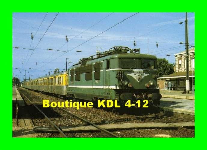 RU 0466 - Train - loco BB 16740 en gare - AULNOYE - Nord - SNCF