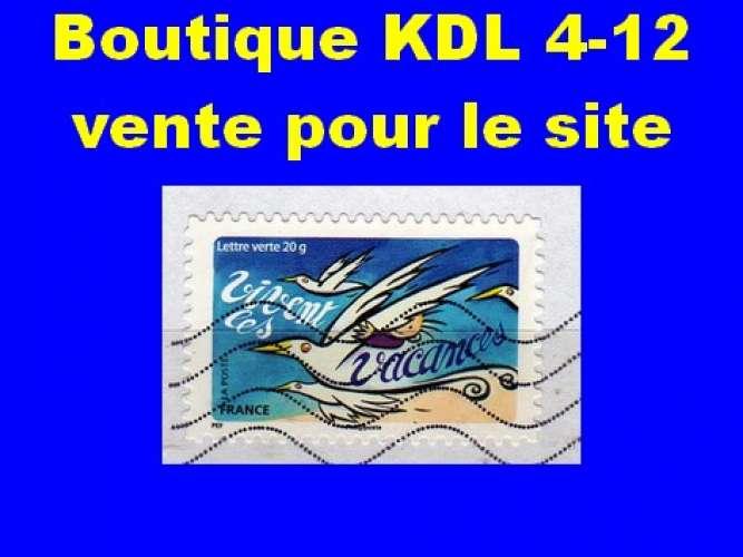 FRANCE - Oblitéré sur fragment - AA  1056 - Vivent les vacances