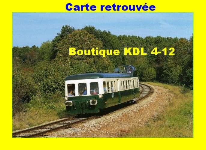 CMFM 025 - Autorail Picasso X 3953 vers PONCE SUR LOIR - Sarthe - SNCF