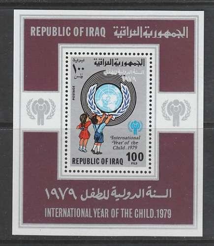 BLOC NEUF D'IRAK - ANNEE INTERNATIONALE DE L'ENFANT N° Y&T 29
