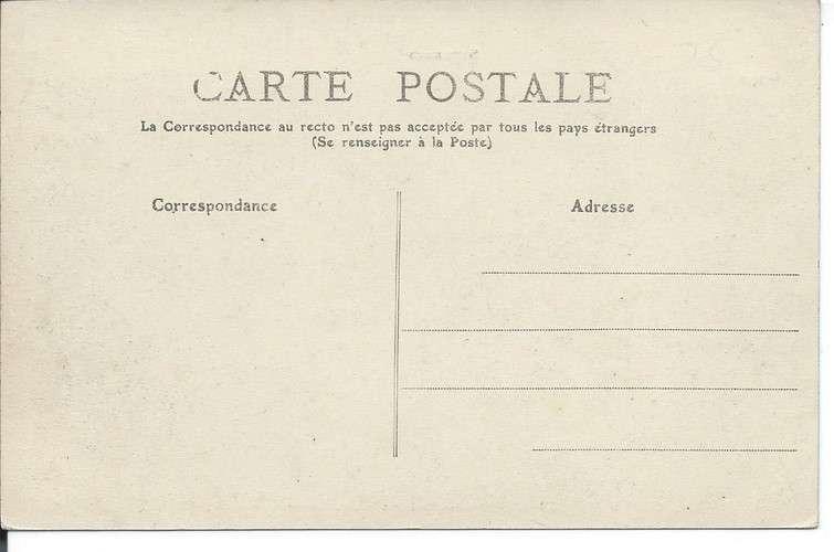 CPA - 92 - Suresnes - Rue des Radiguelles - Train vapeur - Dos scanné