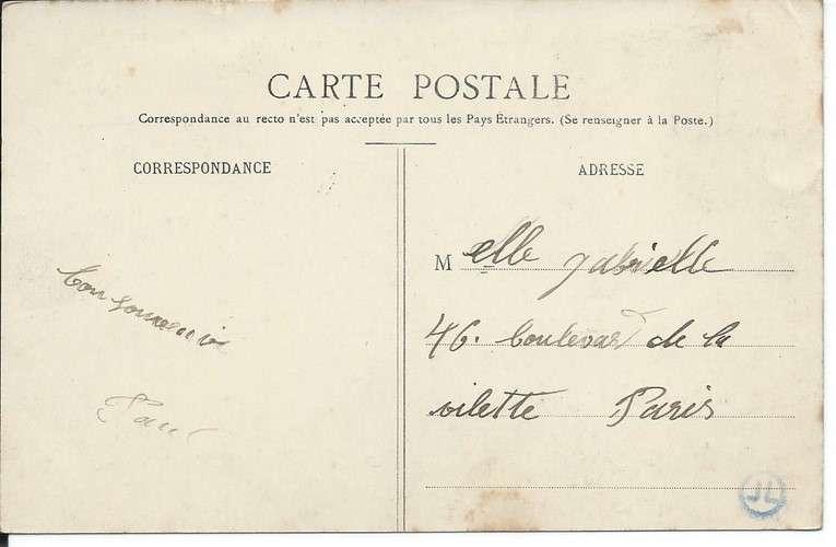 CPA - 27 - Saint-Pierre-du-Vauvray - Le Pays vu de la Gare - Dos scanné