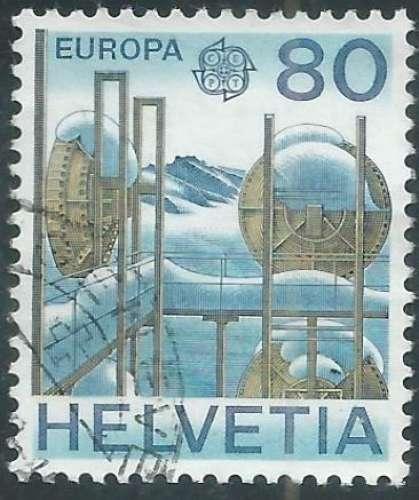 Suisse - Y&T 1085 (o) - Europa -