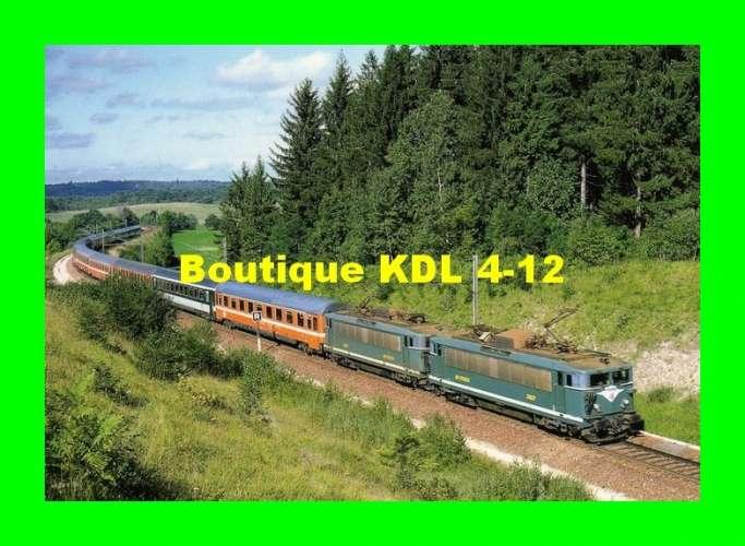 ART 061 - Train le Lutécia - loco BB 25500 vers ANDELOT - Jura - SNCF