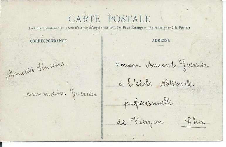 CPA - 92 - Boulogne-sur-Seine - Mairie - Dos scanné