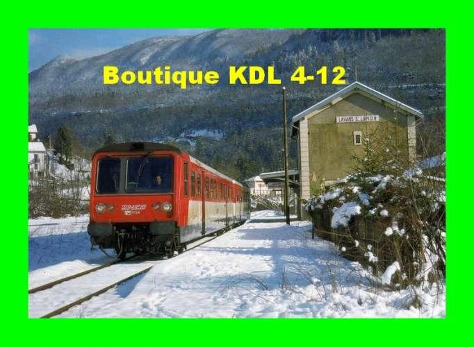RU 1219 - Autorail RGP X 2734 en gare - LAVANS SAINT-LUPICIN - Jura - SNCF