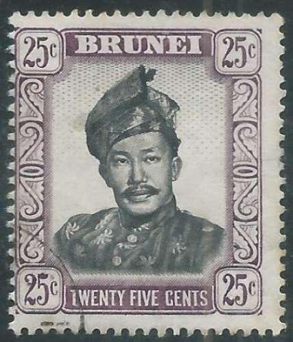 Brunei - Y&T 0110 (o) - Sultan -