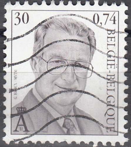 Belgique 2000 COB 2902 O Cote (2016) 0.30 Euro Roi Albert II