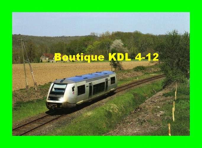 RU 1412 - Autorail X 73729 vers LE BUGUE - Dordogne - SNCF