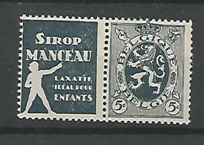 Belgique - 1929 / 32 - Pub N° 6 - Neuf **