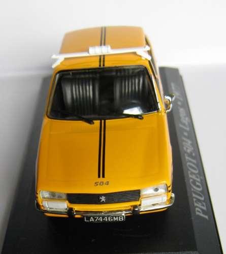 Peugeot 504 - Taxi LAGOS - Nigéria - Echelle 1/43