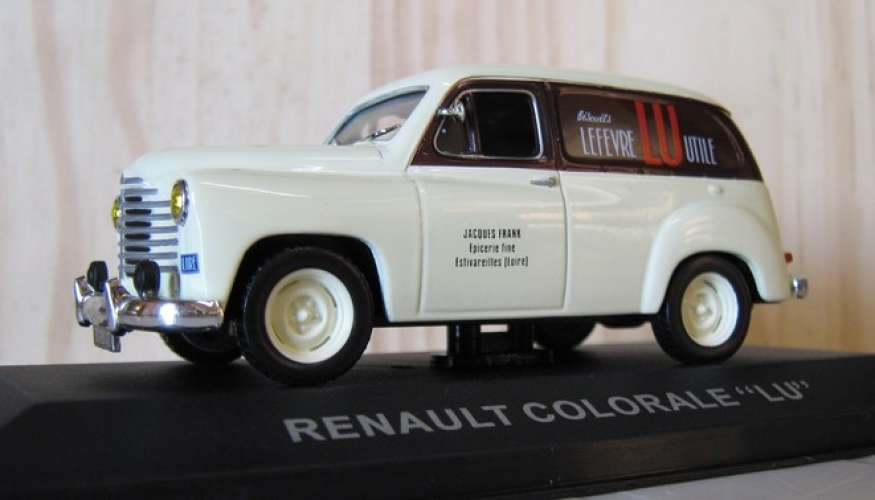 Renault Colorale - Biscuit LU - Echelle 1/43