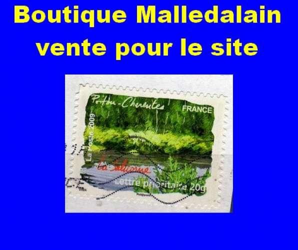 FRANCE - Oblitéré sur fragment - AA 308 Poitou-Charentes - La salicorne - TCA 058