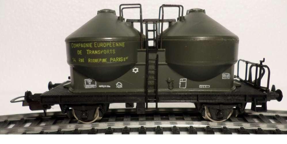 HO LIMA SNCF WAGON CIMENT CIE INTERNATIONALE DE TRANSPORTS