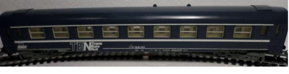 HO - LIMA - VOITURE VOYAGEUR SNCF TRANS EURO NUIT - 4 ESSIEUX