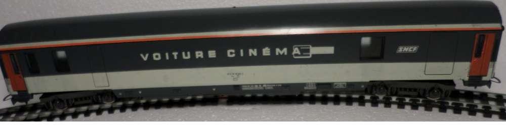 HO lima SNCF voiture cinema 4 essieux