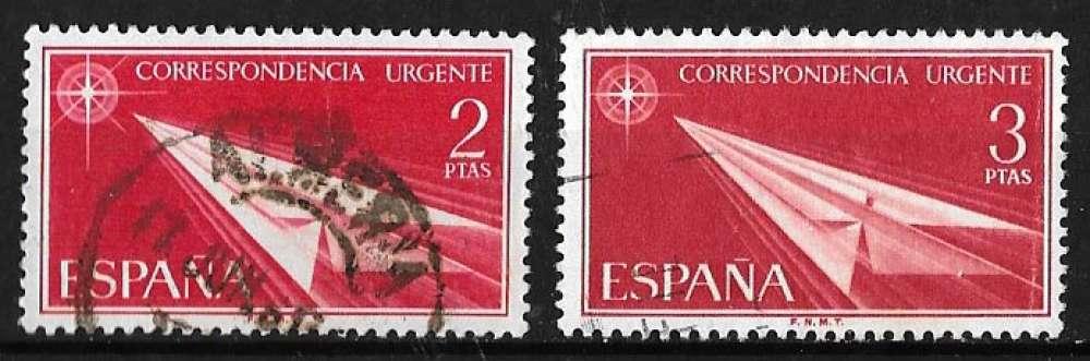 Espagne 1956 - Express Y&T 31 et 32 (o)