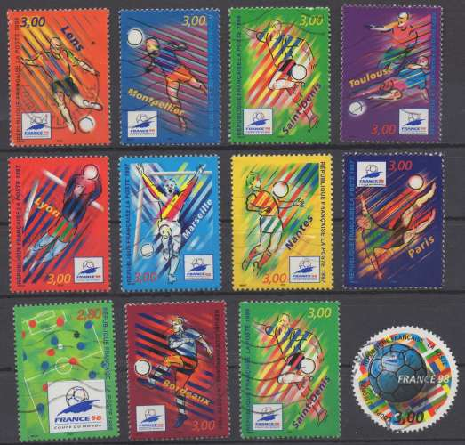 France 1998 -  Coupe du Monde de Football : stades