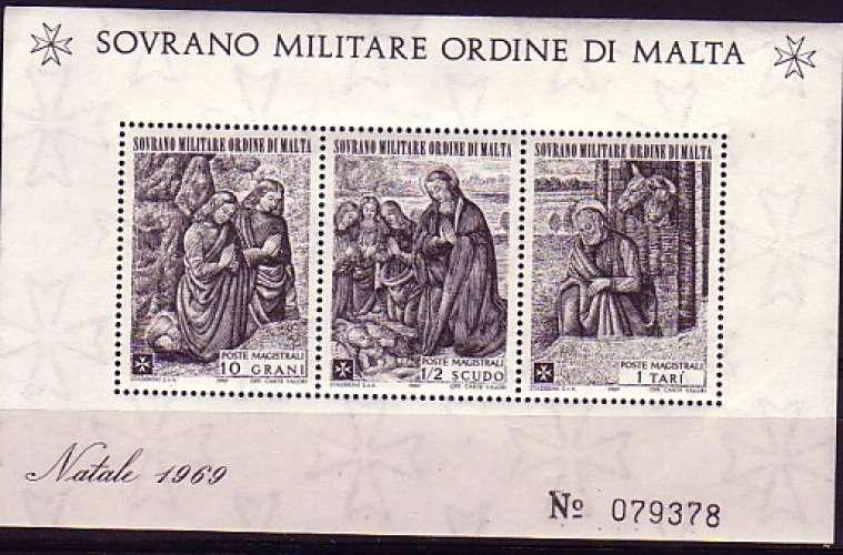 Ordre de Malte  1969   1 BF N**  Noël