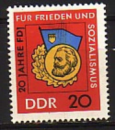 RDA 1966  Y&T  865  N**
