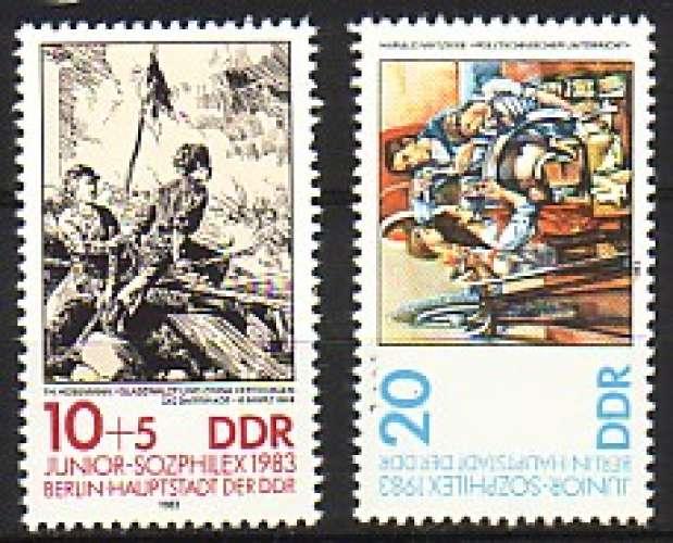 RDA 1983  Y&T  2455-2456  N**